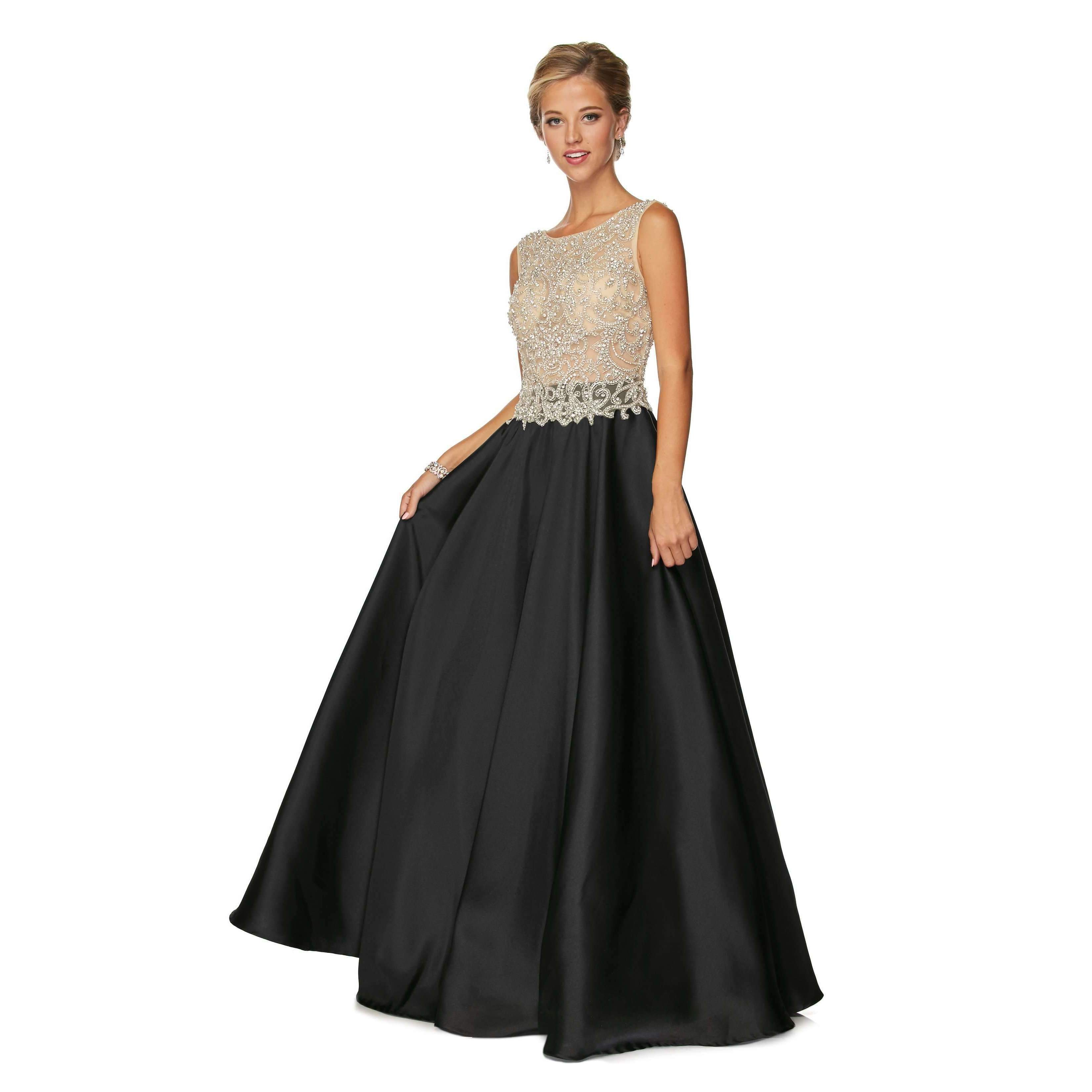 Vestido Para Quince Años Negro Ref Ju651 Venta Y Aquiler